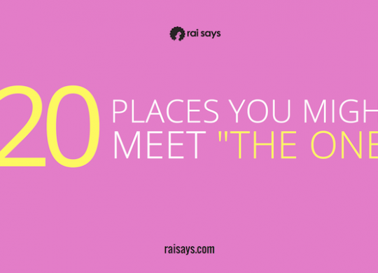 Places to Meet The One