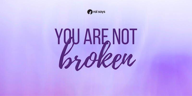 I feel broken after my breakup